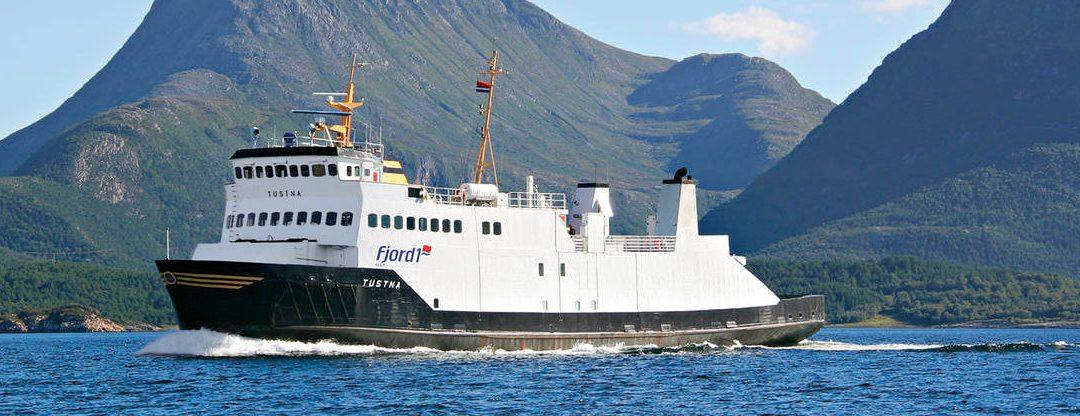 Ferjehistorien på Nordmøre