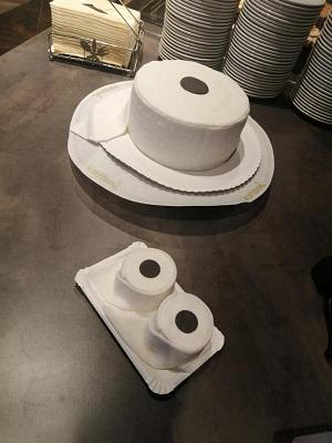 Toilettenpapier vom Konditor - Wintering macht es möglich - Foto: NordNews.de