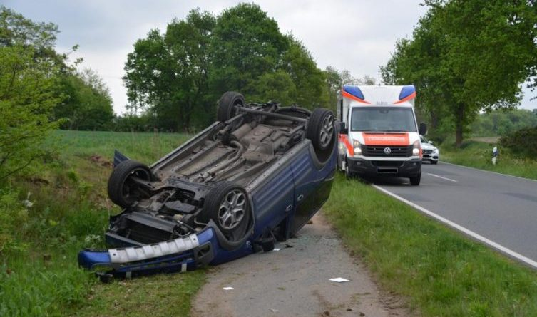 Unfall in Meppen - Versen Foto: Marco Schlösser