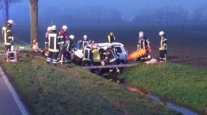 Aktuell: Eingeklemmte Person in der Ölwerkstraße Fotos: Nordnews.de