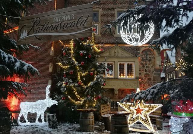 Besucherrekorde auf dem Meppener Weihnachtsmarkt Foto: Stadt meppen