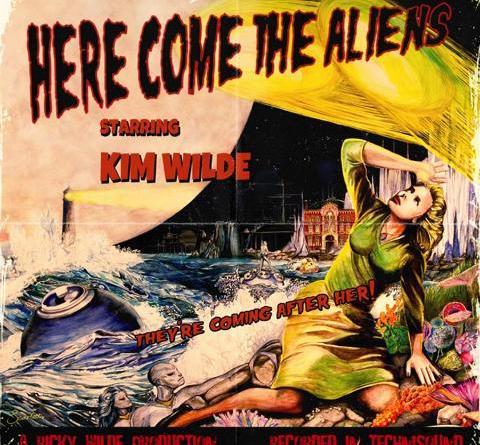 """Kim Wilde veröffentlicht neues Album """"Here Come The Aliens"""" am 16. März bei earMUSIC"""