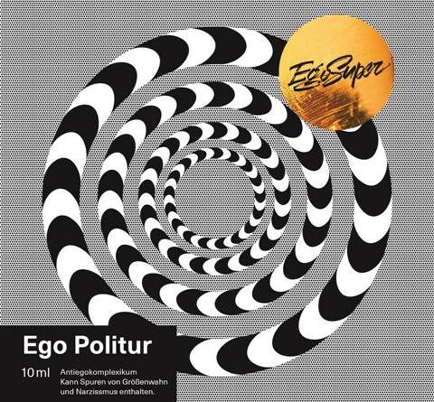 "Ego Super - Psycho-Rap-Rock Trio aus Hannover mit neuem Album ""Ego Politur"" am 20. April"