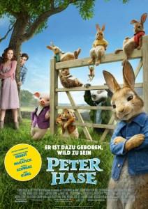 Peter Hase ein Abenteuerfilm ab dem 22. März im Kino