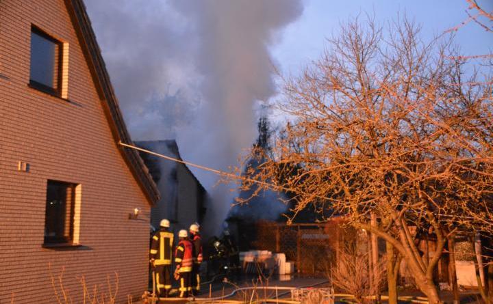 Aktuell: Brand einer Sauna in der Brandenburger Straße in Meppen Foto:NordNews.de