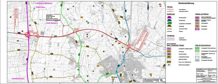 E 233: Details zu Planungen aus erster Hand - Landkreis Emsland lädt zum Infomarkt ein – Planfeststellung steht bevor