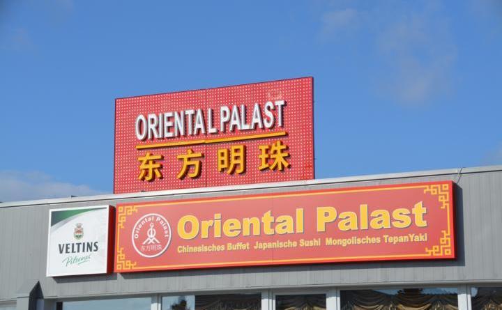 Oriental Palast - Das China Restaurant ab dem 29. März in Lingen geöffnet Foto: NordNews.de