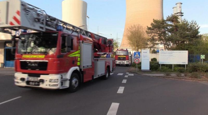 Aktuell: Rauchentwicklung eines Hilskessels auf dem Gelände des Erdgaskraftwerkes Foto: NordNews.de