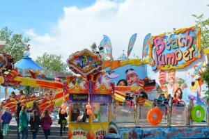Nordhorner Maikirmes einen Tag länger - Eröffnung schon an Himmelfahrt – Volksfest vom 10. bis 14. Mai auf dem Neumarkt Foto: Stadt Nordhorn