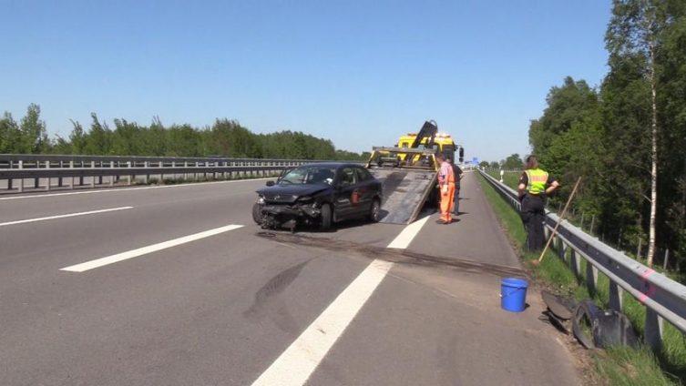 Haren - 79jähriger bei Verkehrsunfall auf der Autobahn verletzt Foto: NordNews.de