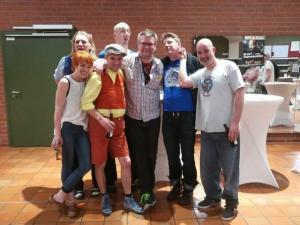 Das Ensemble zusammen mit NordNews Andreas