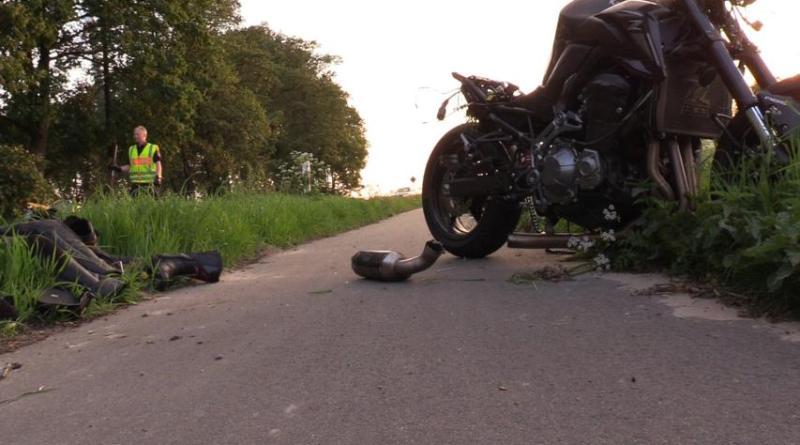 Aktuell: Motorradunfall zwischen Osterbrock und Bawinkel - Osterbrocker Straße Foto: NordNews.de