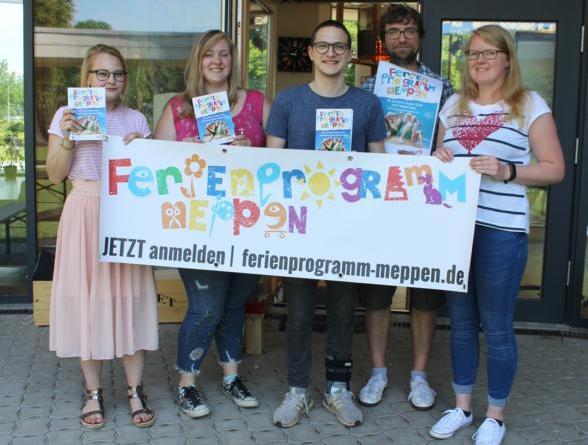 """Jetzt für das """"Ferienprogramm Meppen"""" registrieren-Das Ferienprogramm-Team vom JAM freut sich auf eure Anmeldungen. Foto: Stadt Meppen"""