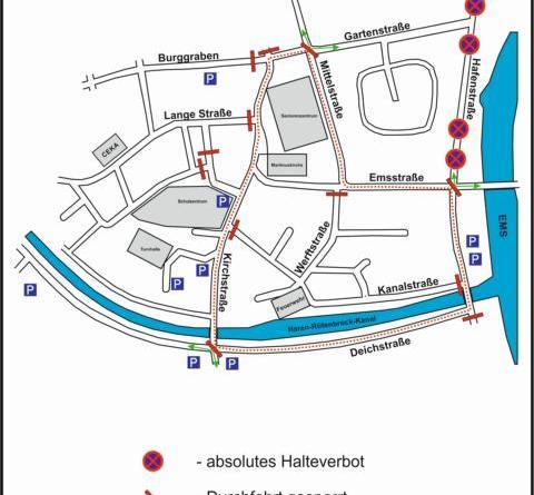 Harener Citylauf macht Straßensperrungen im Stadtkern erforderlich Foto: Stadt Haren