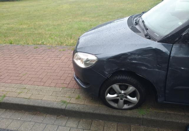 Aktuell in Geeste: Eine verletzte Person bei Unfall auf der Osterbrocker Strasse Foto: NordNews.de
