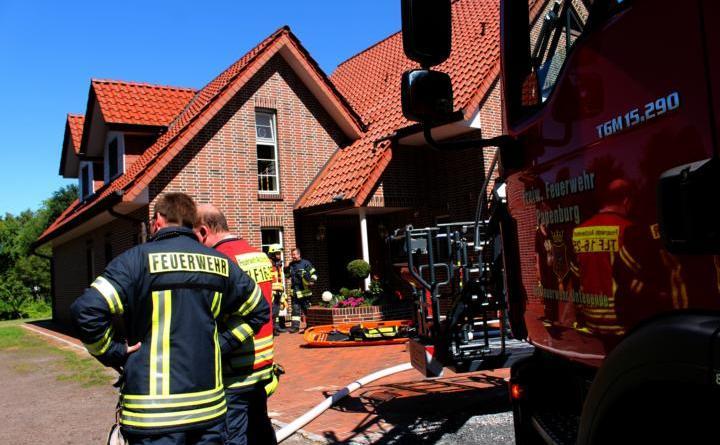 Papenburg - Brand in Mehrfamilienhaus in der Weißenburg geht glimpflich aus Foto: Stadt Papenburg