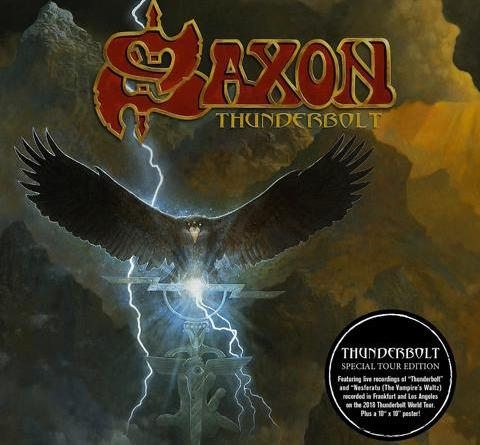 "SAXON - Special Tour Edition ""THUNDERBOLT"" am 07. September und Live Dates 2018"