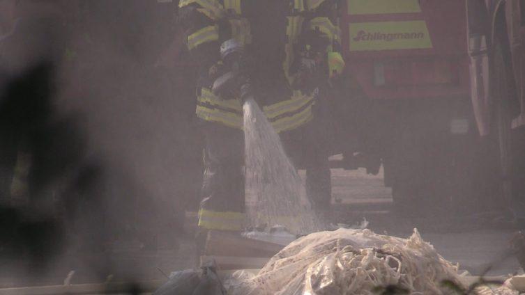 Aktuell: Brand in der JVA Lingen Abteilung Damaschke Foto: NordNews.de