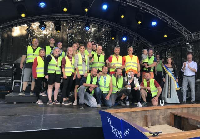 5. Harener Pünte-Tage verzeichnen Besucherrekord - Das Team des Boxclubs Haren siegte beim diesjährigen Drachenbootrennen. Foto: Stadt Haren