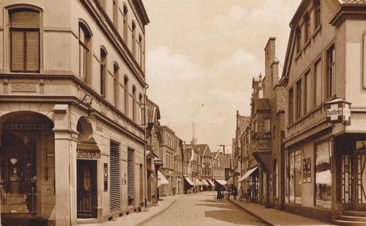Herbstvortrag des Lingener Stadtarchivs: Die Geschichte der Burgstraße Foto: Stadt Lingen
