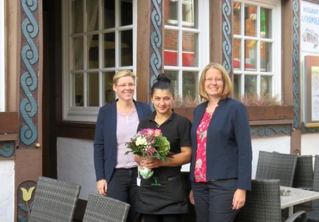 """Griechisches Restaurant """"Akropolis"""" in Hutmachers Deele eröffnet Foto: Stadt Lingen"""