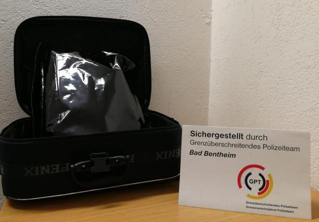 Schüttorf - 1,3 Kilogramm Marihuana beschlagnahmt Foto: Presseportal.de