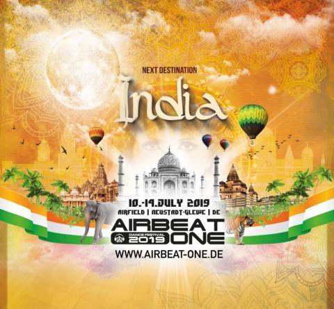 AIRBEAT ONE Festival 2019 - Unglaublicher Ansturm auf die ersten Karten - Earlybird-Tickets ausverkauft - 2019 verwandelt sich der Flugplatz Neustadt-Glewe in Indien
