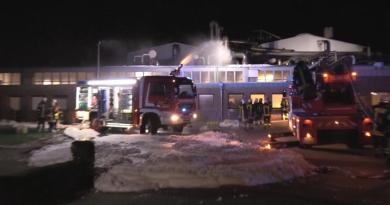 Sögel AKTUELL - Brand in einer fettverarbeitenden Firma in der Industriestraße Foto: NordNews.de
