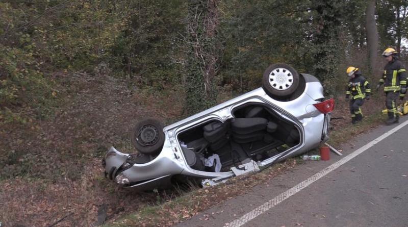 Bawinkel - 22-Jähriger nach Unfall zwischen Haselünne und Bawinkel im Krankenhaus Foto: NordNews.de
