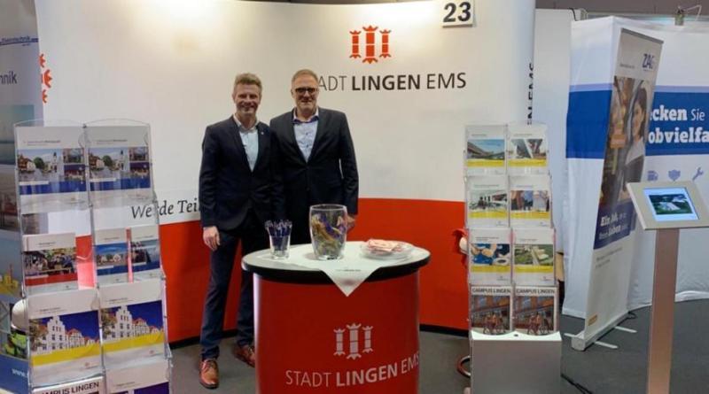 Rund 160 Gespräche während der Jobmesse Bremen Wirtschaftsförderung der Stadt Lingen wertet Teilnahme als Erfolg Foto: Stadt Lingen