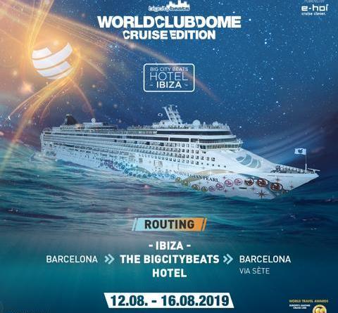 BigCityBeats WORLD CLUB DOME Cruise Edition 2019: Willkommen an Bord, Robin Schulz, Don Diablo, Timmy Trumpet und ... Verkaufsstart diese Woche