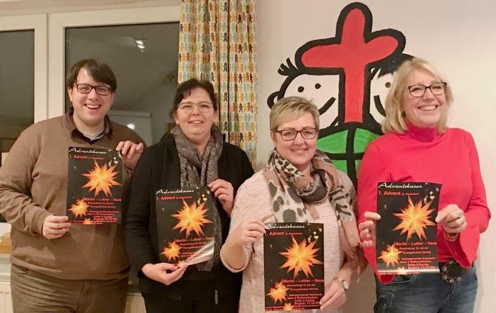 Einladung zum Adventsbasar im Martin-Luther-Haus - Erlöse sollen in gemeindeeigene St.-Johannis-Stiftung fließen Foto: Stadt haren