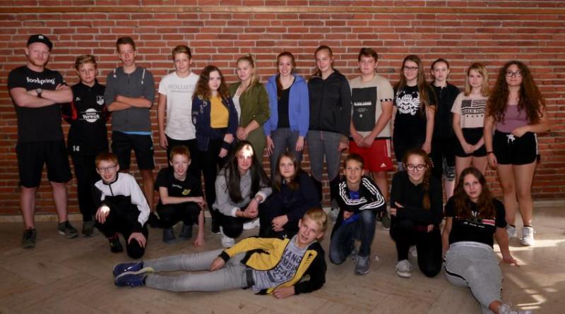Die neuen Schulsportassistenten im Marstall Clemenswerthin Sögel Foto:Hendrix Bölle