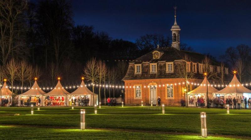 Advent auf Schloss Clemenswerth mit 100 Ausstellern - Weihnachtsmarkt lädt am 8. und 9. Dezember zum Bummeln und Verweilen ein Foto: Eckhard Albrecht
