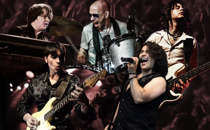 Jubiläumstournee: 50 Jahre Deep Purple, 20 Jahre Demon's Eye - Das gab's live noch nie: Europas Deep-Purple-Tribute-Band Nr. 1 bietet in einem Konzert das Beste der Blackmore-/Lord-Ära von 1968 bis 1993 Foto: Moni Kircher