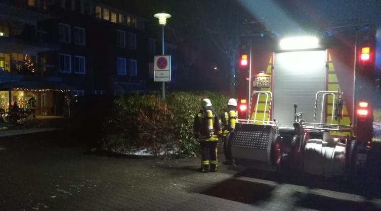 Zimmerbrand Curanum LingenFoto: NordNews.de