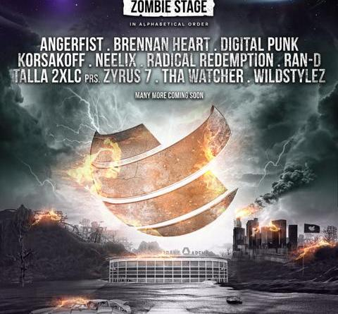 BigCityBeats WORLD CLUB DOME 2019 - The Space Edition: Return of the harder Styles: Erste Headliner der Zombie Stage