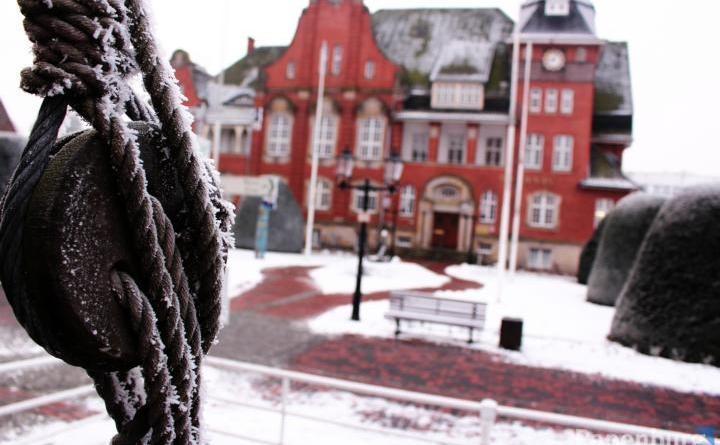 Räum- und Streupflicht bei Schnee- und Eisglätte Foto: Stadt Papenburg