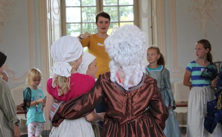 Sögel. Am Emslandmuseum Schloss Clemenswerth können Kinder am Donnerstag, den 21. Februar von 14.30 bis 16.30 Uhr, die 5. Jahreszeit feiern. Foto: Schloss Clemenswerth