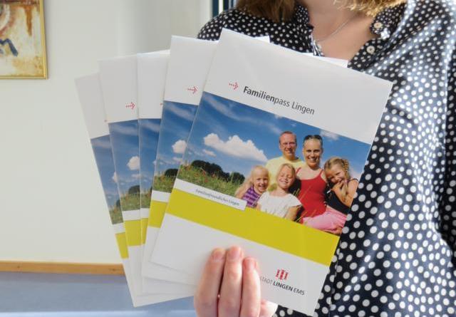 Familienpolitisches Programm und der Familienpass der Stadt Lingen (Ems) Foto: Stadt Lingen