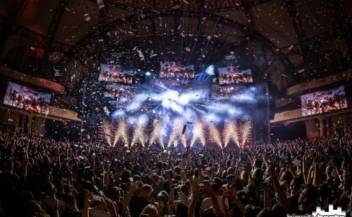 15 Jahre BigCityBeats - Spektakuläre Geburtstagsparty in der ausverkauften Frankfurter Festhalle Foto: Jan Segnitz