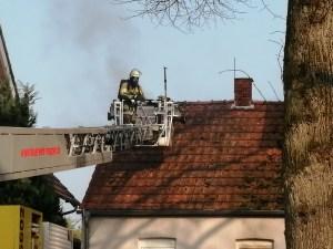 Aktuell/Meppen: Gebäudebrand in der Herzog-Ahrenberg-Straße Foto: NordNews.de