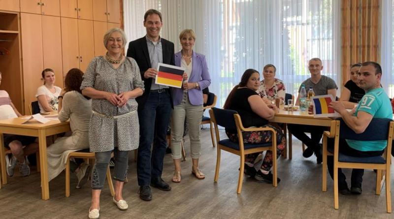 Volkshochschule bietet verstärkt Sprachkurse für EU-Ausländer Foto: Stadt haren