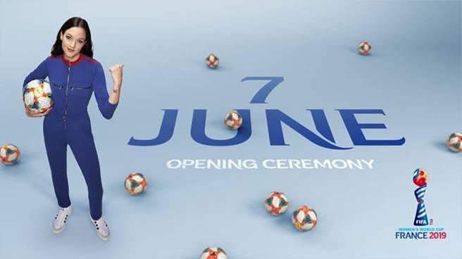 Jain performt live bei der Eröffnungsfeier der FIFA Frauen Weltmeisterschaft am 7. Juni