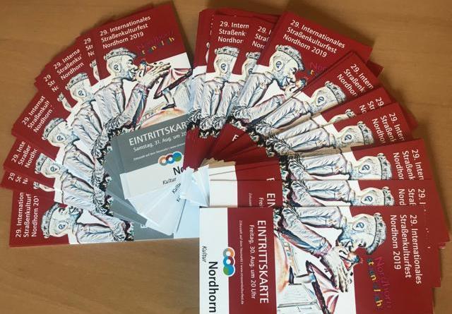 Straßenkulturfest: Vorverkauf für Varieté-Abende startet - Begehrte Karten sind ab dem 19. Juni 2019 erhältlich. Foto: Stadt Nordhorn