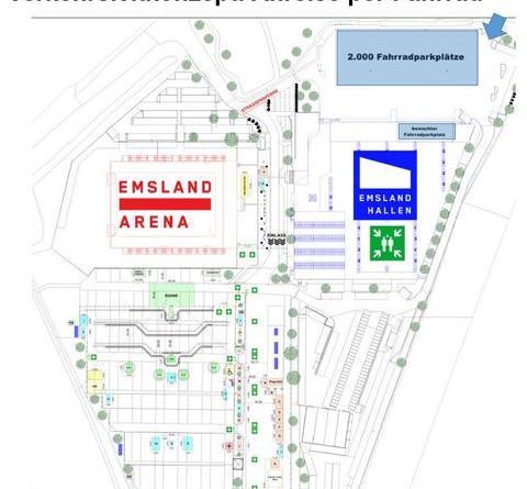 Open-Air-Konzerte in 2019 - Keine PKW-Parkplätze an der EmslandArena