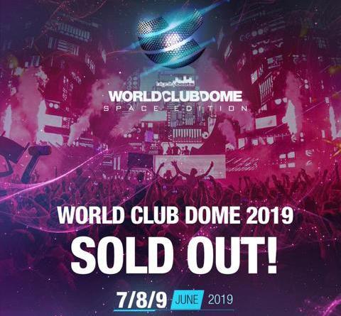 """BigCityBeats WORLD CLUB DOME 2019 SOLD OUT! BigCityBeats in Kooperation mit der ESA feiern """"50 Jahre Mondlandung"""" und schicken prominente Videobotschaften ins Weltall"""