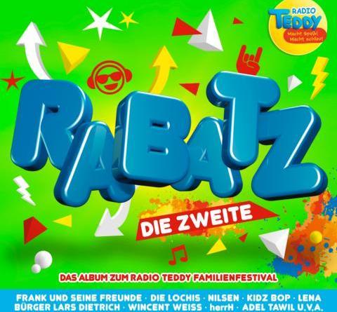 Die heißesten Songs zum Radio TEDDY-Festival RABATZ – Sommerfeeling für die ganze Familie