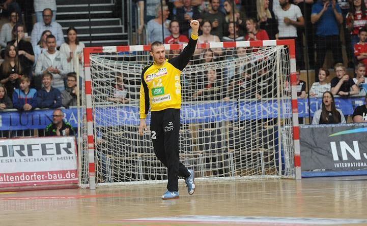 Björn Buhrmester bleibt bis 2022 bei der HSG Nordhorn-Lingen