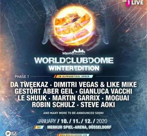 BigCityBeats WORLD CLUB DOME Winter Edition - 10./ 11./12.01.2020 - MERKUR SPIEL-ARENA Düsseldorf